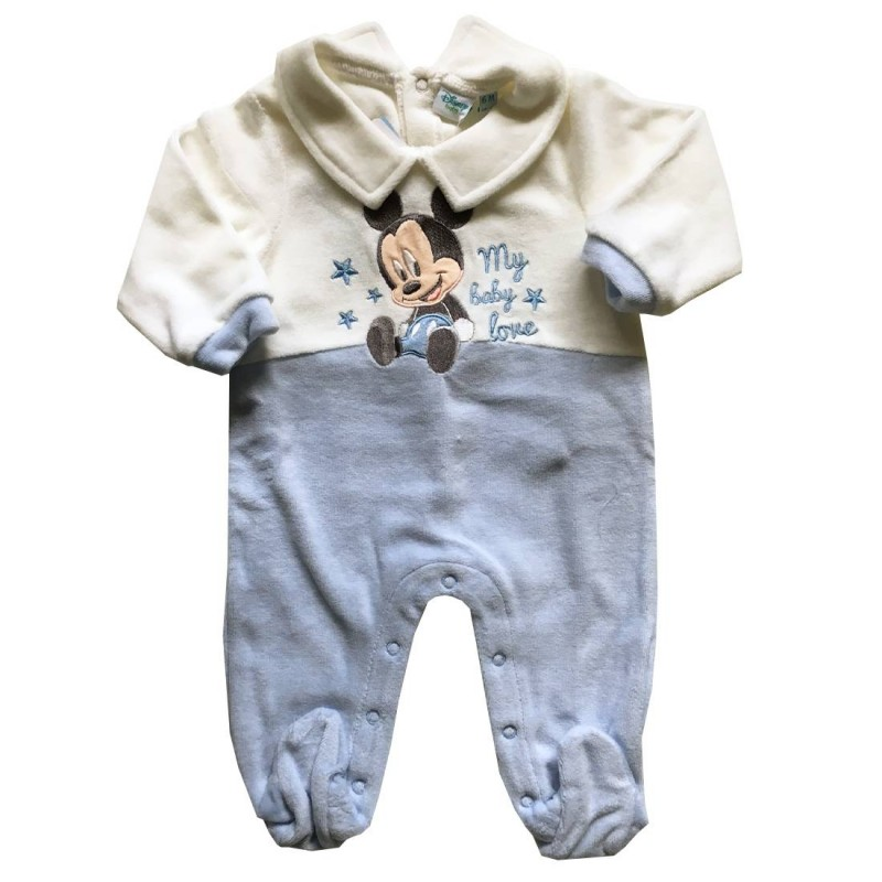 TUTINA BABY TOPOLINO CINIGLIA - CIELO