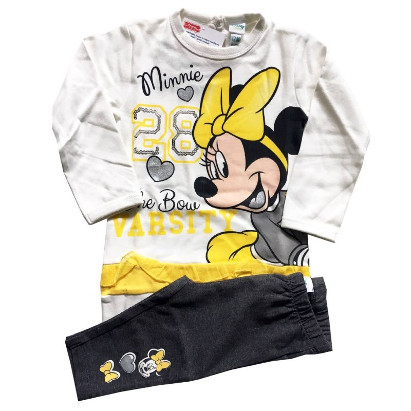 OUTFIT MINNIE HOT COTTON - YELLOW