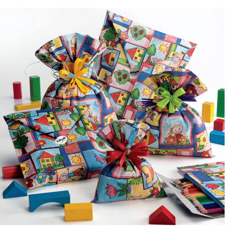 GIFT BAGS HAPPYKIDS - 50 PZ