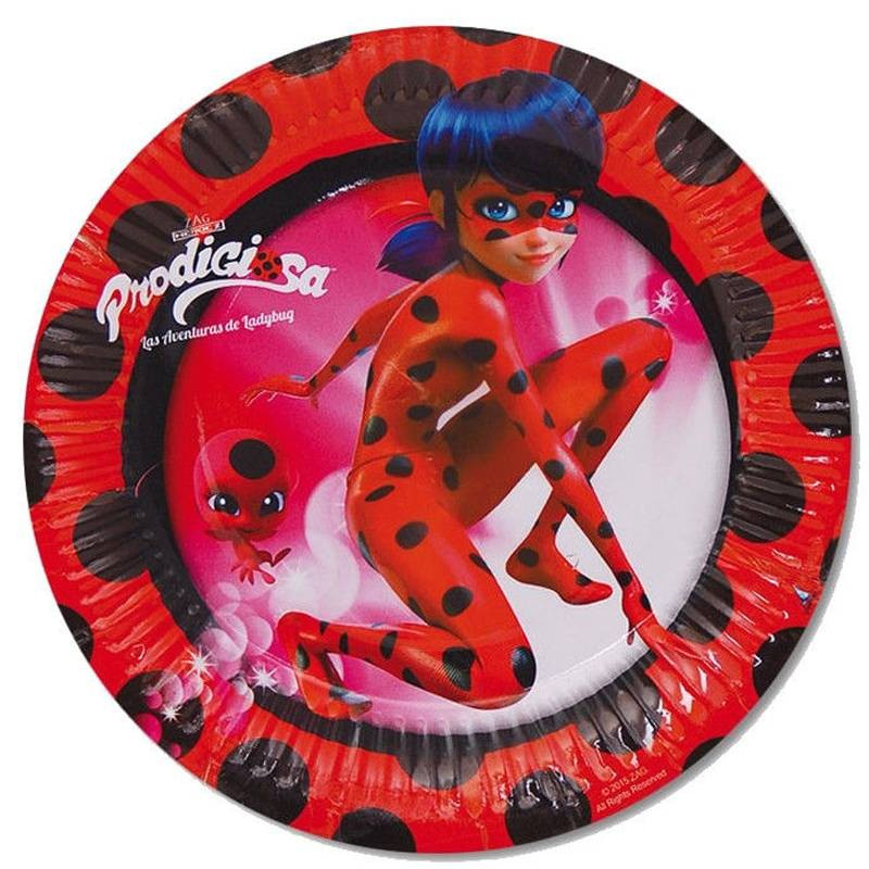 Piatti dolce per dessert lady bug for Decorazioni torte ladybug