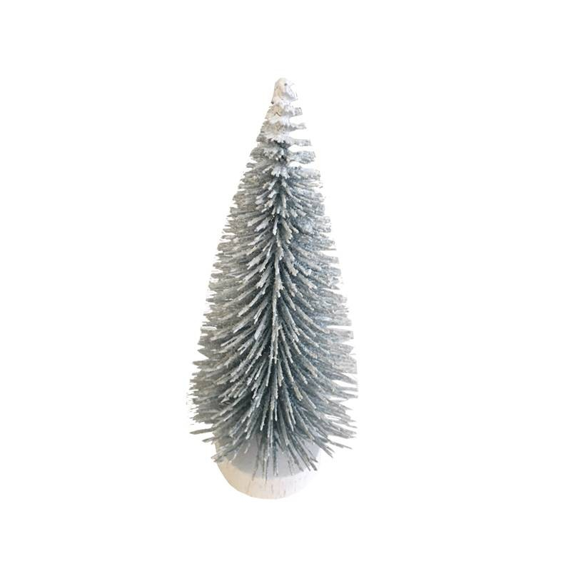 ALBERO DI NATALE ARTIFICIALE CON BASE IN MDF 700484 H8 CM 5PZ