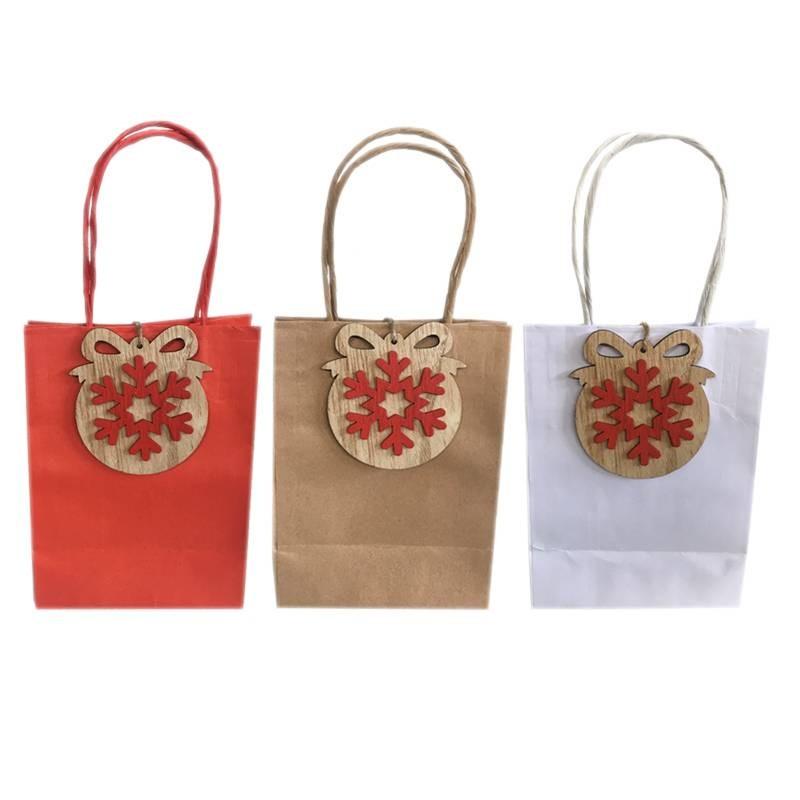 Buste regalo di carta decorazioni natalizie sfera piatta - Decorazioni con fazzoletti di carta ...
