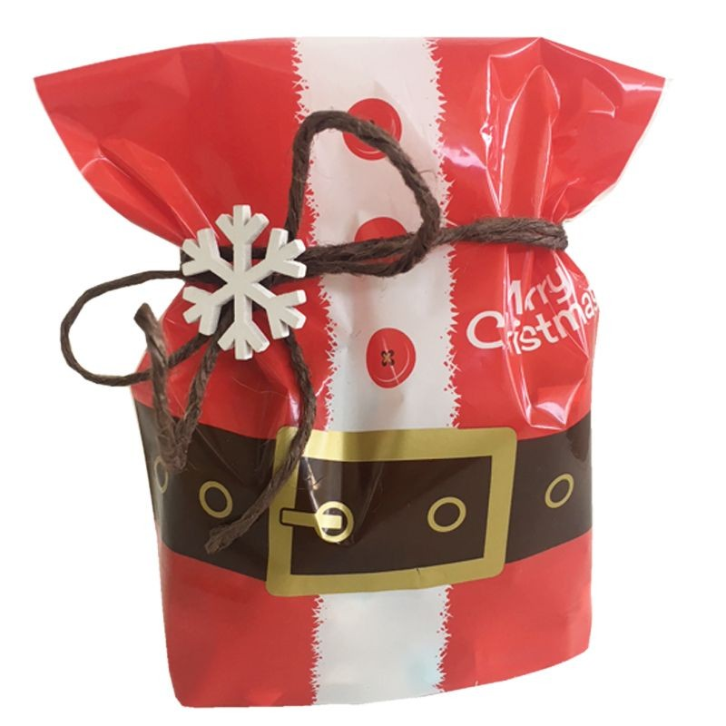 BUSTE REGALO MERRY CHRISTMAS 14X23 CM (69823/250) 100PZ