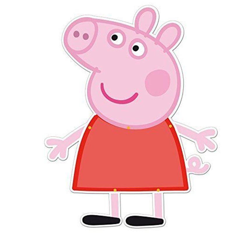 SILHOUETTE PEPPA PIG