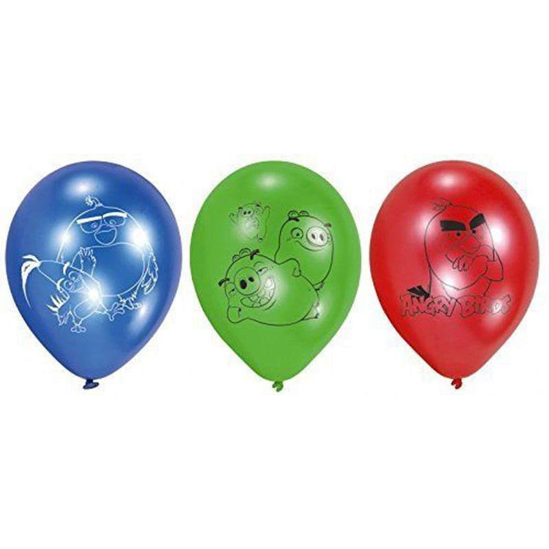 PALLONCINI ANGRY BIRDS - 12 PZ