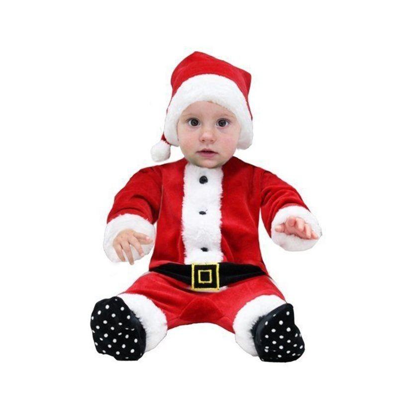 Vestito babbo natale neonato 471af6da9c4