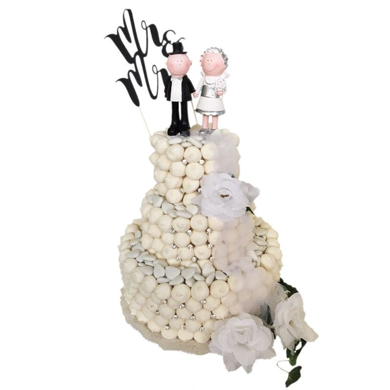 WEDDING CAKE CON CARAMELLE - MINI CAKE