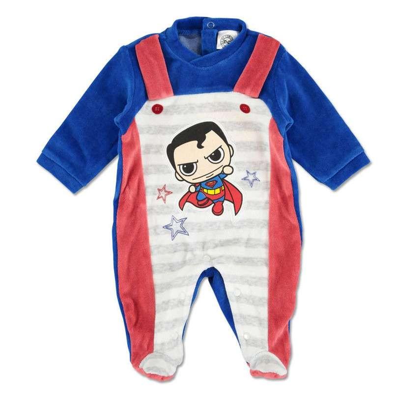 TUTINA SUPERMAN BABY - CINIGLIA CALDA E SOFFICE