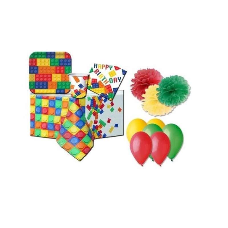 KIT N.49 LEGO - ACCESSORI TAVOLA PER COMPLEANNO