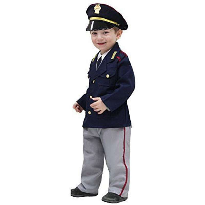 massimo stile carino economico prezzo più basso con Costume poliziotto bambino - travestimento originale
