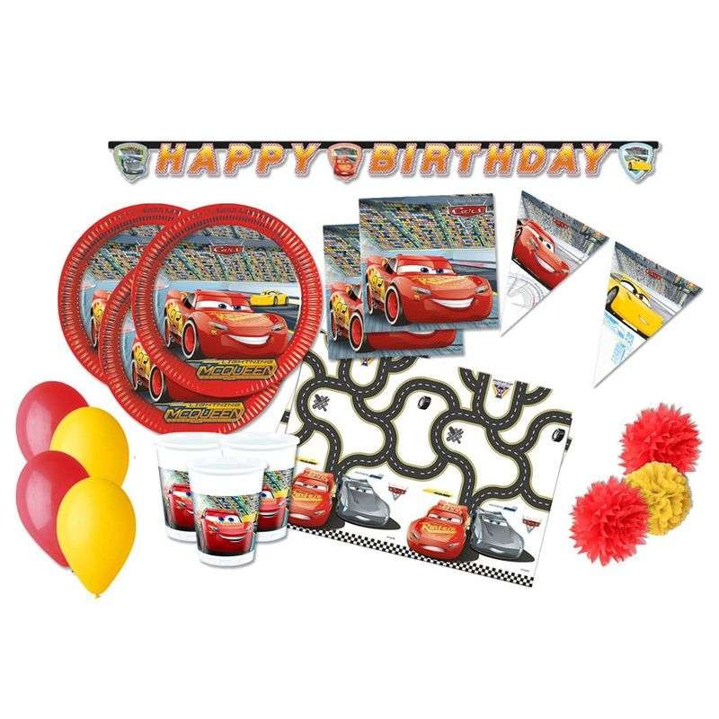KIT N. 57 CARS 3 - ACCESSORI TAVOLA