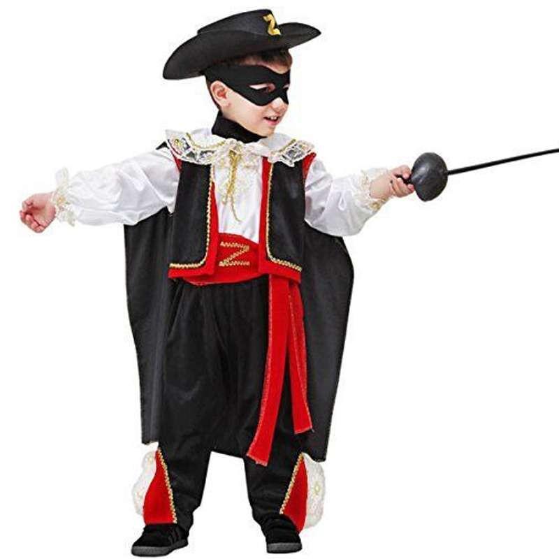 Da Zorro Vestito Costume Di Carnevale H9W2IYDE