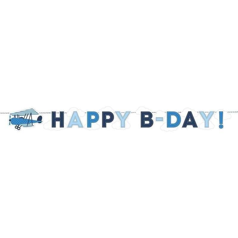 GHIRLANDA LITTLE PLANE - HAPPY BIRTHDAY