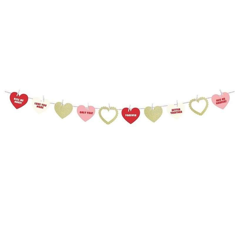 GHIRLANDA SWEET LOVE - FESTONE PER EVENTI ROMANTICI