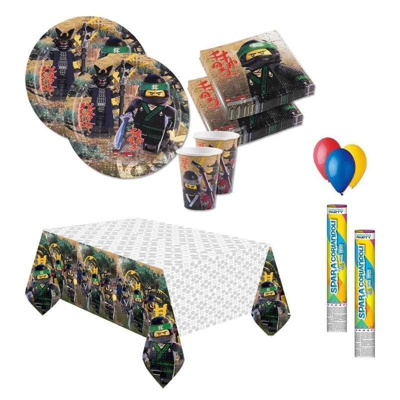 KIT N.30 LEGO NINJAGO - ACCESSORI PER LA FESTA