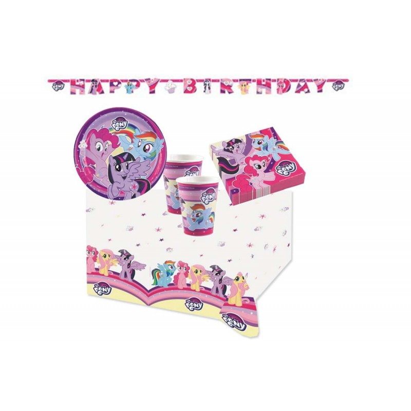 KIT N13 82 PZ COMPLEANNO MY LITTLE PONY