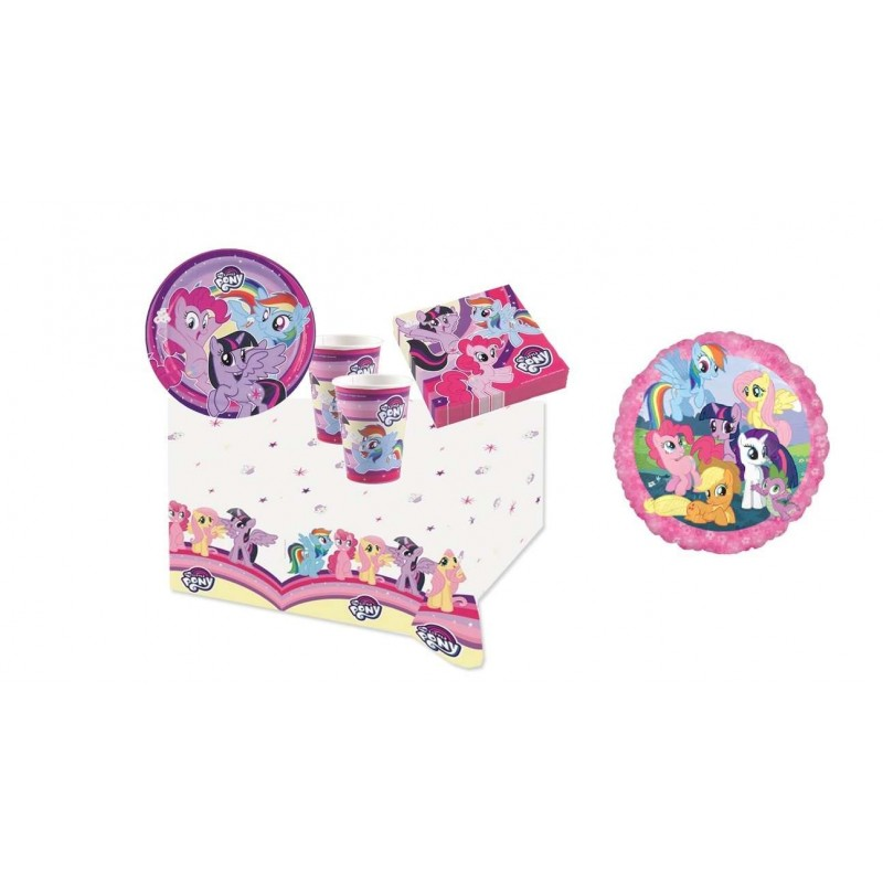 KIT N.10 - KIT COMPLEANNO GUFO + PALLONCINO FOIL