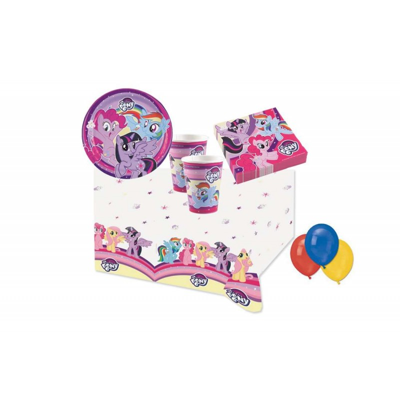 KIT N4 COMPLEANNO MY LITTLE PONY
