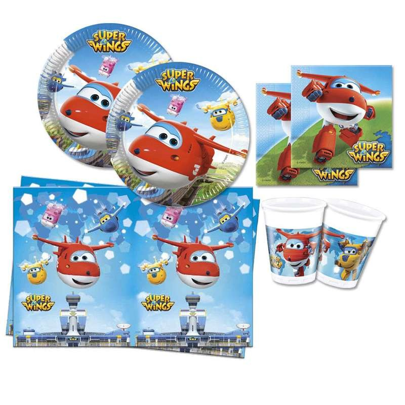 KIT N.3 SUPER WINGS - ACCESSORI PER LA TAVOLA