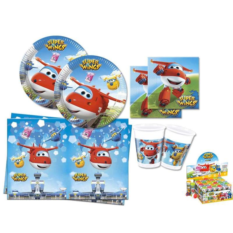 KIT N.5 SUPER WINGS - ADDOBBI COMPLEANNO