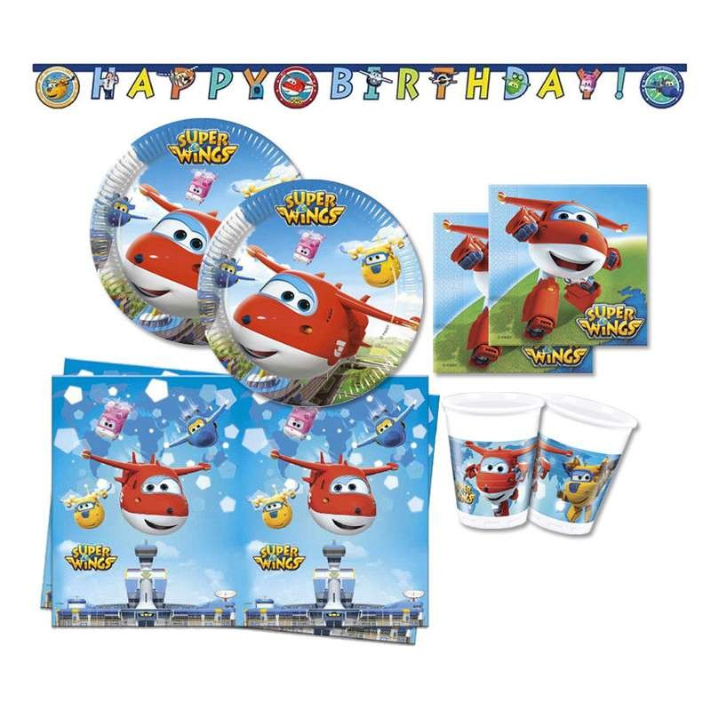 KIT N.13 SUPER WINGS - ADDOBBI PER LA FESTA