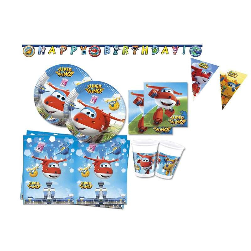 KIT N.17 SUPER WINGS - COORDINATO FESTA