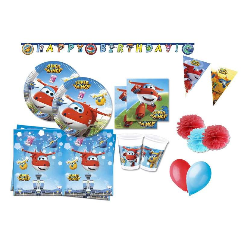 KIT N.46 SUPER WINGS - SET TAVOLA PER FESTE