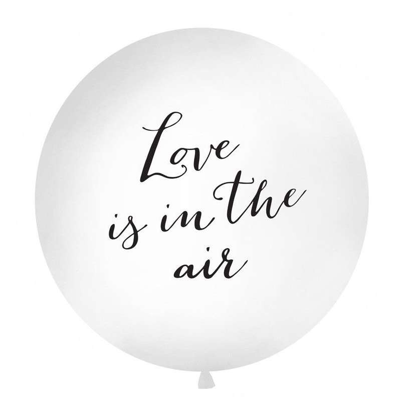 PALLONE GIGANTE - LOVE IS IN THE AIR