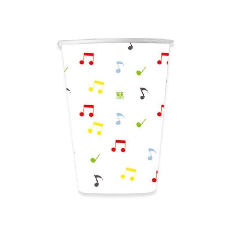 BICCHIERI MUSIC PARTY - ARTICOLI PER LA TAVOLA