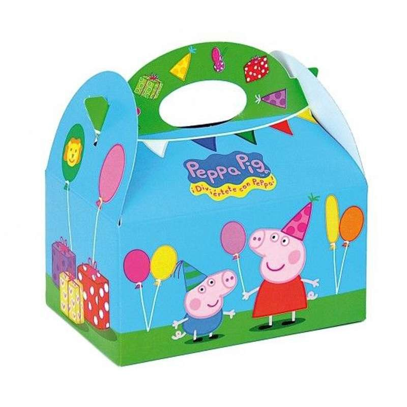 SCATOLE GRANDI PEPPA PIG - BOX GEORGE