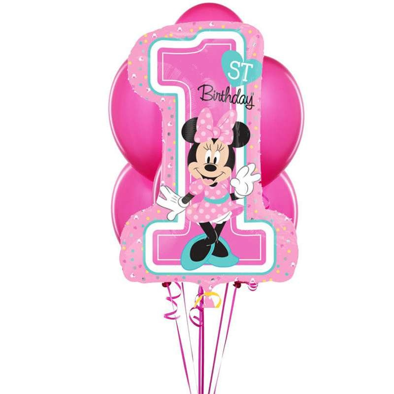 BOUQUET PALLONCINI MINNIE - UN ANNO