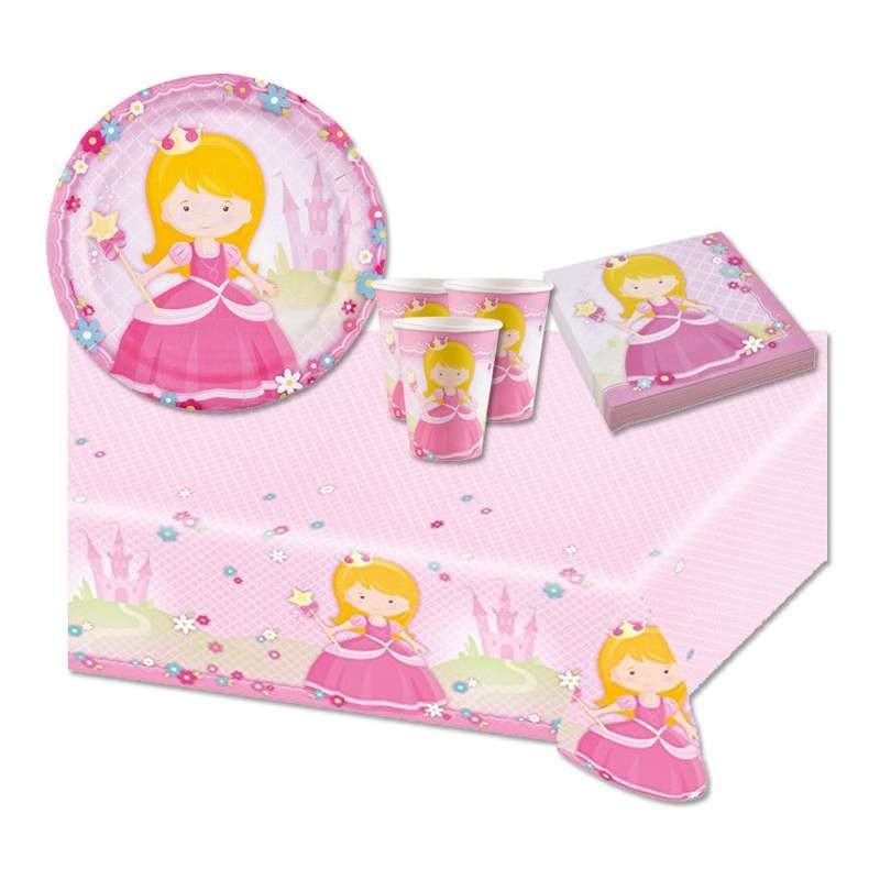 KIT N.16 MY PRINCESS - COORDINATO COMPLEANNO