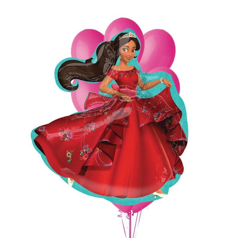 COMPOSIZIONE DI PALLONCINI - SUPERSHAPE ELENA OF AVALOR
