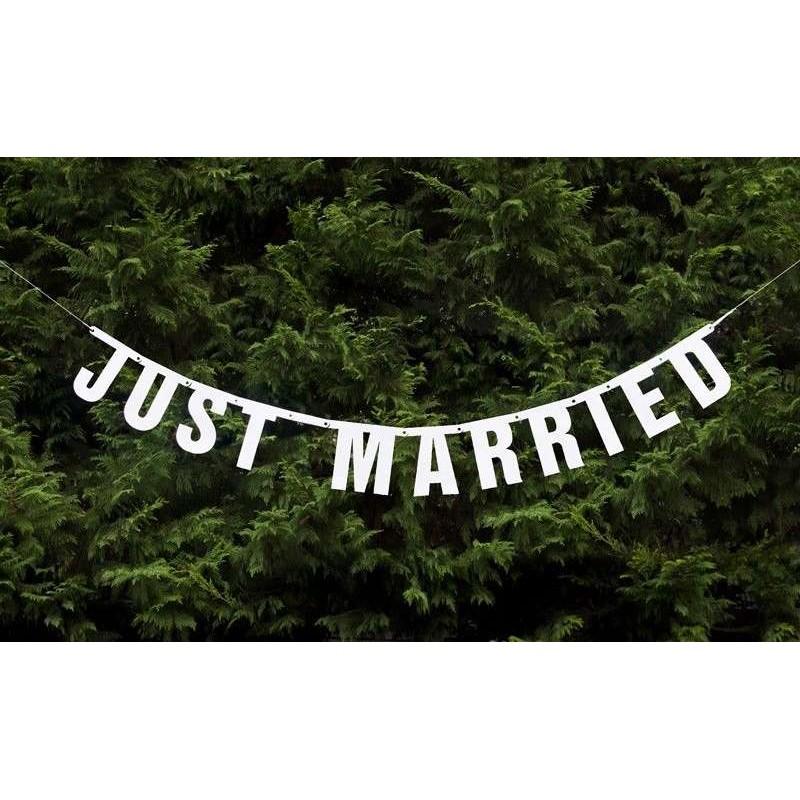 GHIRLANDA JUST MARRIED - PER EVENTI E CERIMONIE