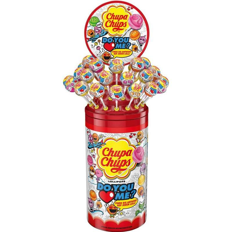 CHUPA CHUPS DO YOU ME - 100 PZ
