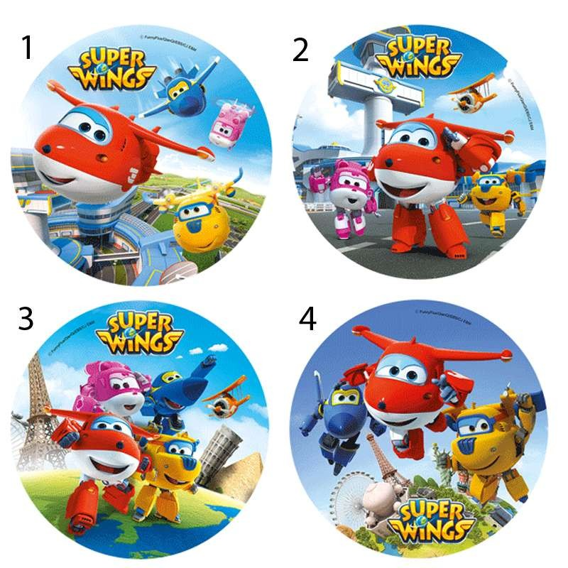 OSTIA SUPER WINGS - DECORAZIONE PER TORTE