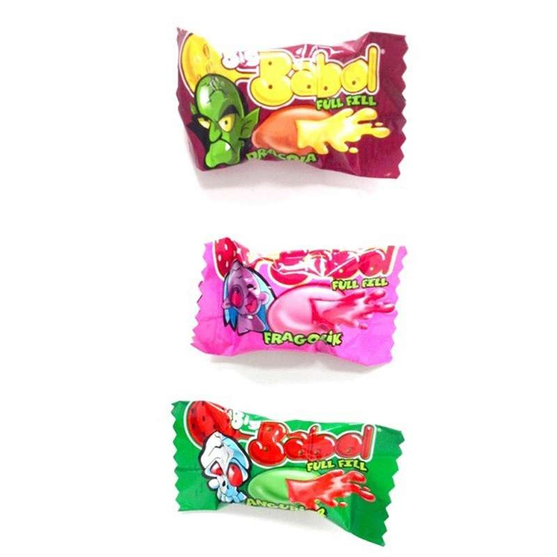 BIG BABOL FRAGOLA COCA COLA ANGURIA - BUBBLE GUM RIPIENI