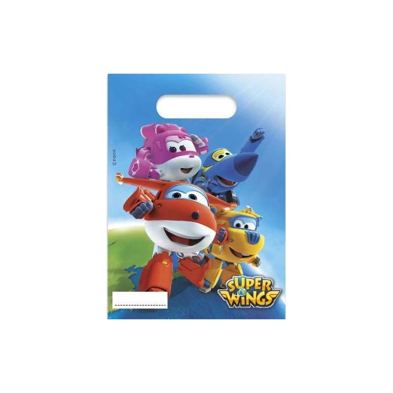 BUSTINE REGALINI FINE FESTA - SUPER WINGS