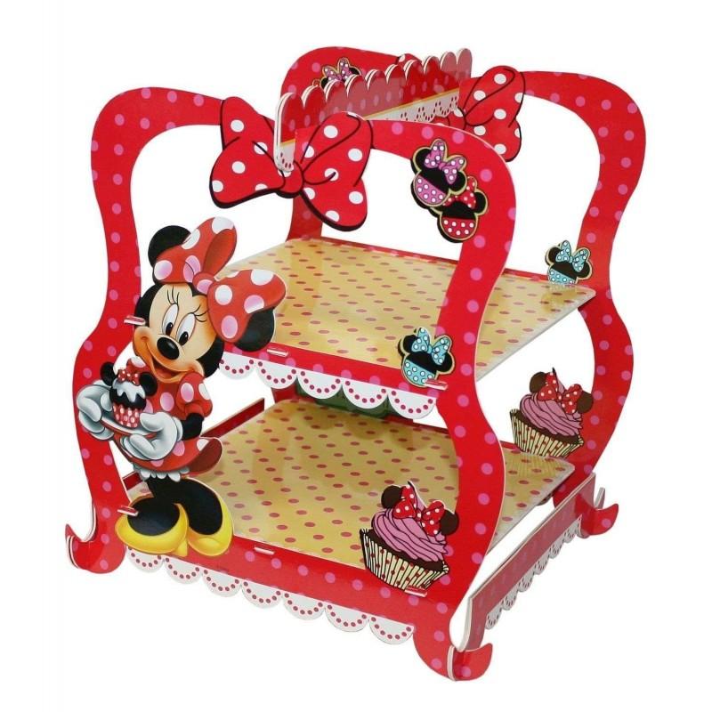 Alzatina Minnie con portaconfetti - confettata a tema Disney