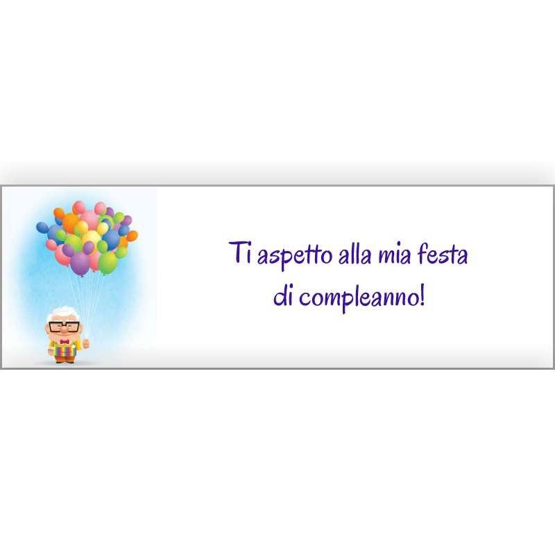 INVITI DI COMPLEANNO UP DISNEY - TI ASPETTO ALLA MIA FESTA