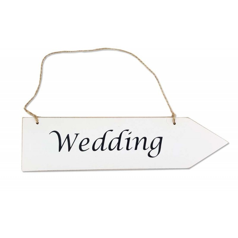 INDICATORE WEDDING - SEGNALE A FRECCIA PER MATRIMONI
