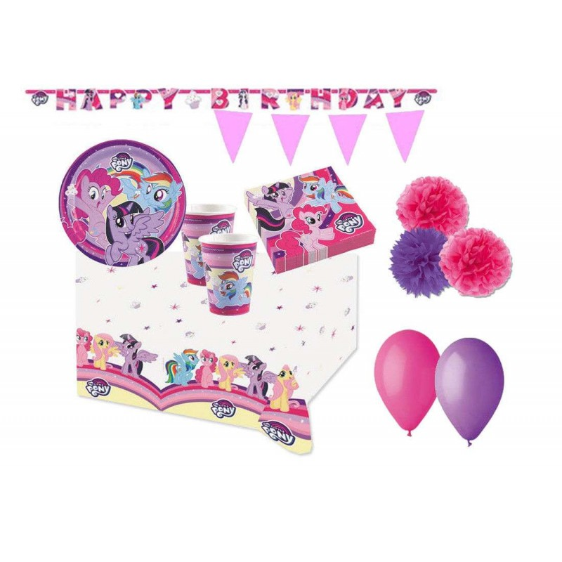 KIT N.57 MY LITTLE PONY - SET PER COMPLEANNI