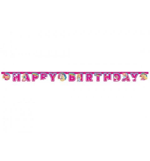 GHIRLANDA BARBIE DREAMTOPIA - FESTONE HAPPY BIRTHDAY