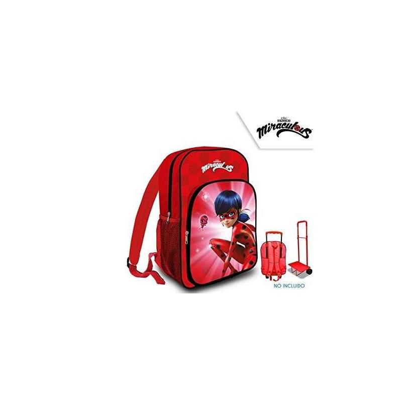 comprare popolare 1dede 074d2 Zainetto ladybug miraculous - zaino per la scuola