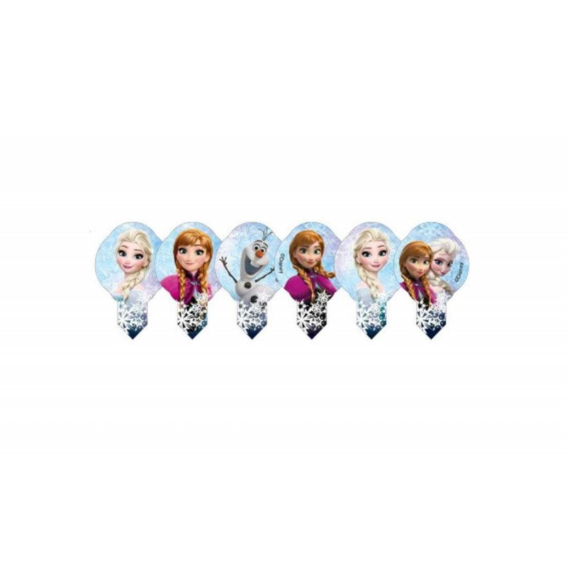 MINI CIALDE FROZEN – DECORAZIONI PER MUFFIN ELSA E ANNA