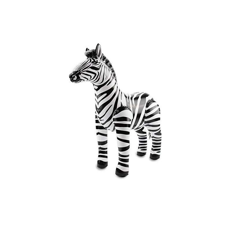 ZEBRA GONFIABILE – PALLONCINO SAGOMATO ANIMALI DELLA SAVANA