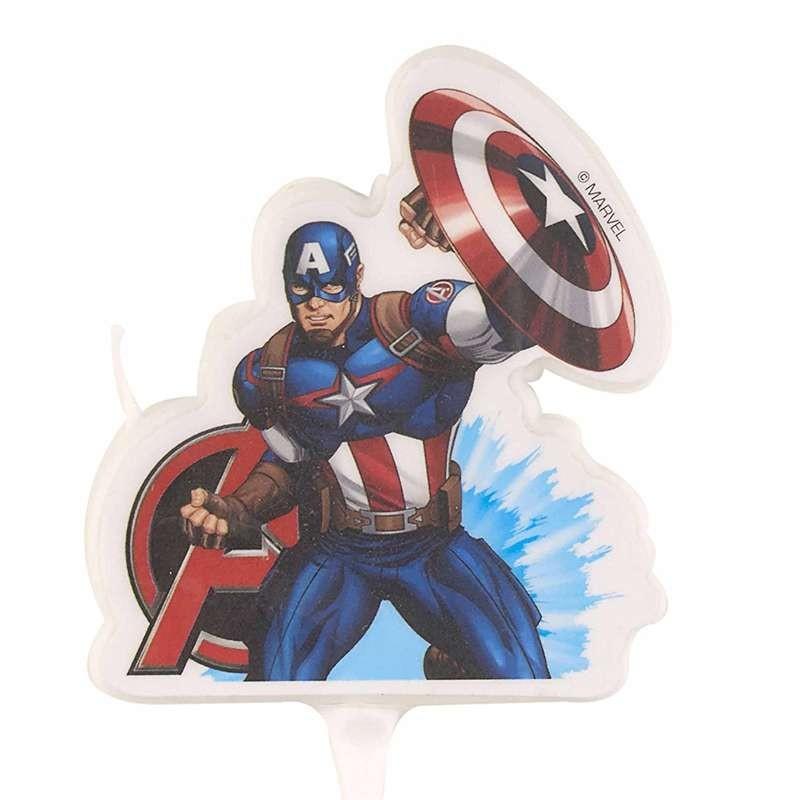 Inviti Compleanno Capitan America