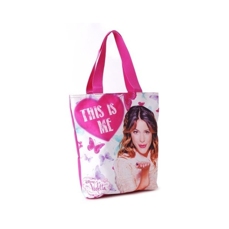 BORSA SHOPPING VIOLETTA DISNEY