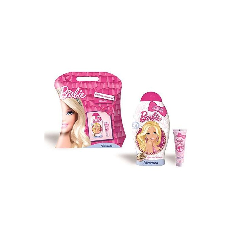 IDEA REGALO BARBIE – GEL DOCCIA E GLITTER GEL