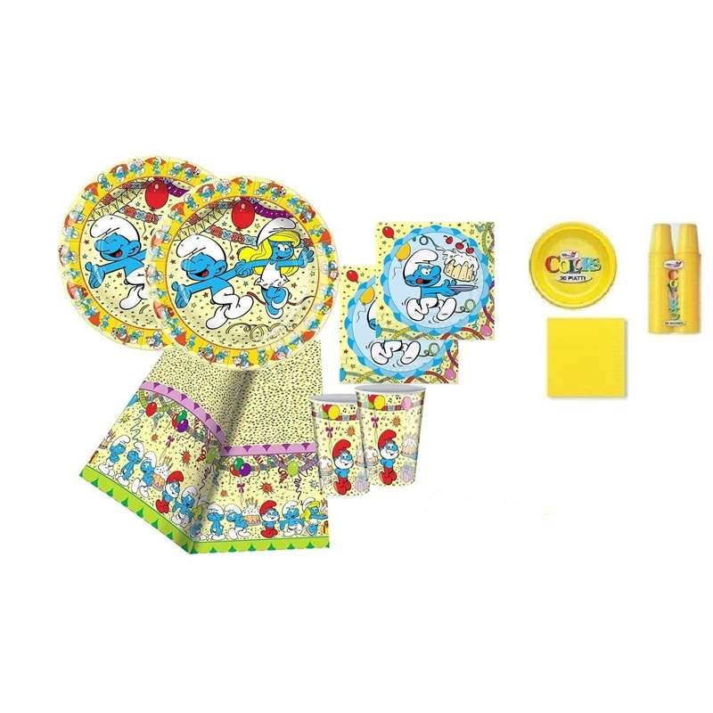 KIT N.7 PUFFI NEW - SET TAVOLA PER FESTE